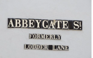 Abbeygate Street Name